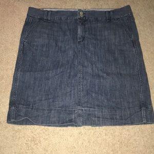 1969 Sap Jeans Stretch Denim Skirt